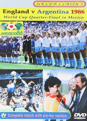 England vs. Argentina: 1986 World Cup Quarter Final Online DVD Rental