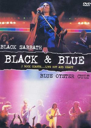 Rent Black Sabbath and Blue Oyster Cult: Black and Blue Online DVD Rental