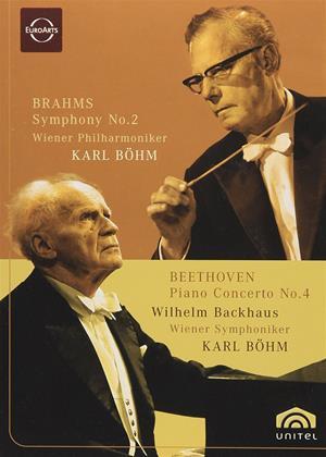 Rent Beethoven: Piano Concerto No.4 / Brahms: Symphony No.2 Online DVD Rental