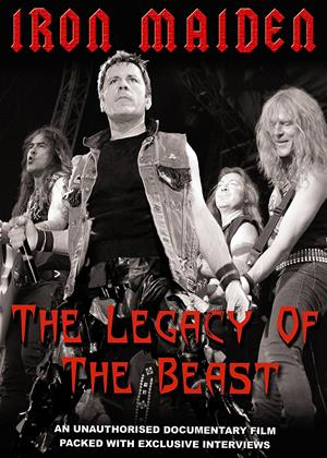 Iron Maiden: The Legacy of The Beast Online DVD Rental