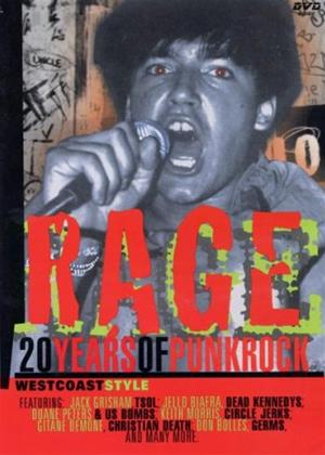 Rage: 20 Years of Punk Rock Online DVD Rental