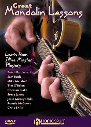 Rent Great Mandolin Lessons Online DVD Rental