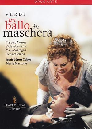 Rent Un Ballo in Maschera: Teatro Real (Jesus Lopez-Cobos) Online DVD Rental
