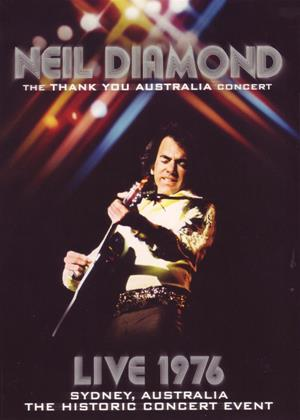 Rent Neil Diamond: Thank You Austrailia 1976 Online DVD Rental