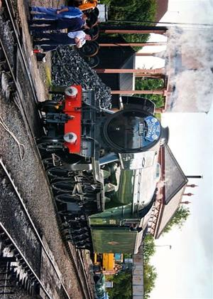 Flying Scotsman from the Footplate Online DVD Rental