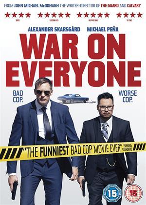 War on Everyone Online DVD Rental
