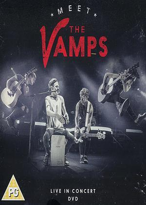 Rent Meet the Vamps: Live in Concert (aka Meet the Vamps: The Story of the Vamps) Online DVD Rental