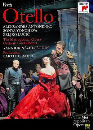 Rent Otello: Metropolitan Opera (Yannick Nézet-Séguin) Online DVD Rental