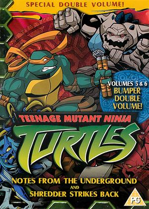 Rent Teenage Mutant Ninja Turtles: Vol.5 and 6 Online DVD Rental