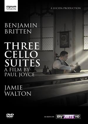 Rent Benjamin Britten: Three Cello Suites Online DVD Rental
