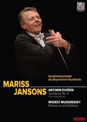 Rent Mariss Jansons: Dvorak: Symphony No. 9 / Mussorgsky: Pictures Online DVD Rental