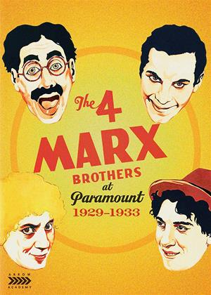 The 4 Marx Brothers at Paramount: 1929-1933 Online DVD Rental