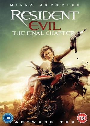 Rent Resident Evil: The Final Chapter Online DVD Rental