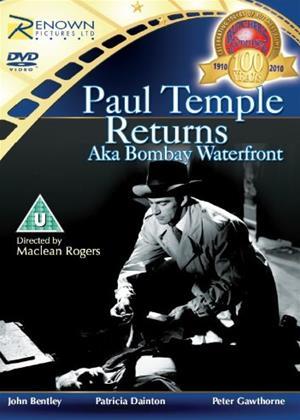 Paul Temple Returns Online DVD Rental