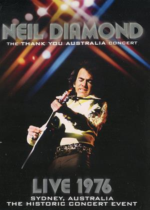 Neil Diamond: The 'Thank You Australia' Concert Online DVD Rental
