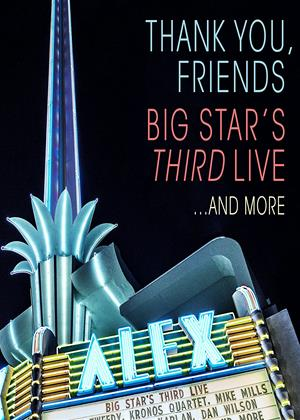 Thank You Friends: Big Star's Third: Live Online DVD Rental