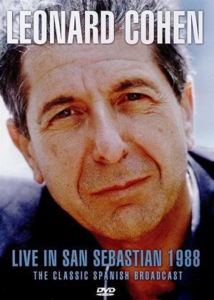 Leonard Cohen: Live in San Sebastian Online DVD Rental