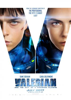 Valerian and the City of a Thousand Planets Online DVD Rental