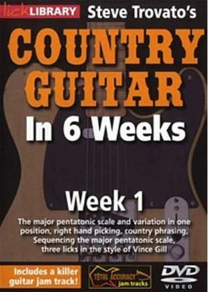 Rent Steve Trovato's Country Guitar in 6 Weeks: Week 1 Online DVD Rental