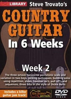 Rent Steve Trovato's Country Guitar in 6 Weeks: Week 2 Online DVD Rental