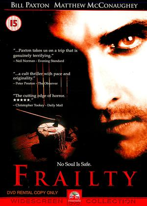 Rent Frailty Online DVD & Blu-ray Rental