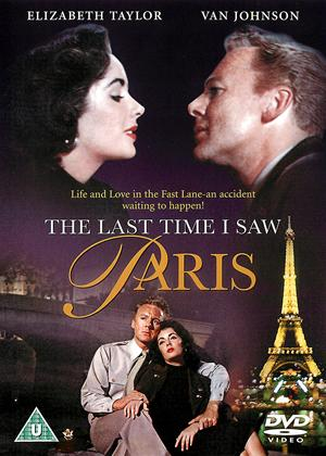 Rent The Last Time I Saw Paris Online DVD Rental