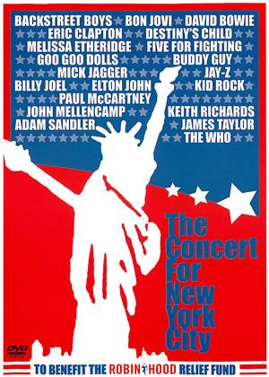 Rent The Concert for New York City Online DVD Rental