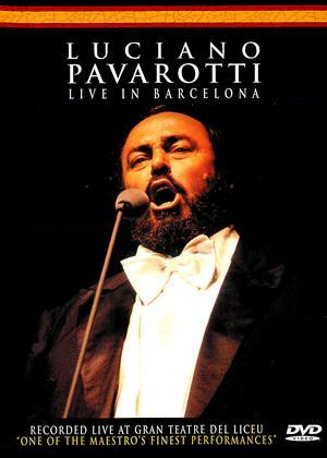 Rent Luciano Pavarotti: Live in Barcelona Online DVD Rental
