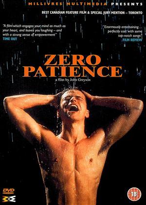 Rent Zero Patience Online DVD & Blu-ray Rental