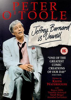 Rent Jeffrey Bernard Is Unwell Online DVD & Blu-ray Rental