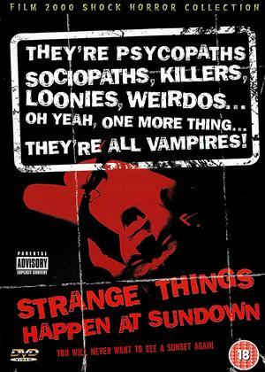 Rent Strange Things Happen at Sundown Online DVD & Blu-ray Rental