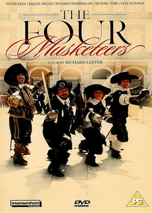 Rent The Four Musketeers Online DVD Rental