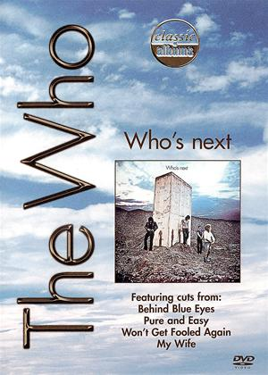 Rent Classic Albums: The Who: Who's Next Online DVD & Blu-ray Rental