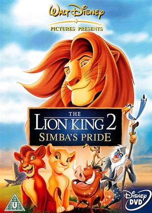 Rent The Lion King 2: Simba's Pride Online DVD & Blu-ray Rental