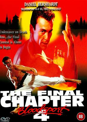Rent Bloodsport 4: The Final Chapter Online DVD Rental