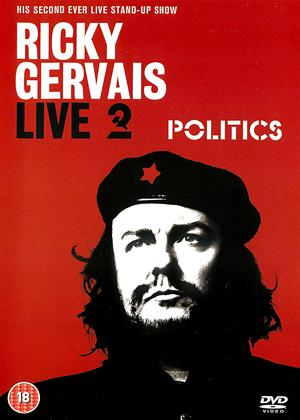 Ricky Gervais: Politics: Live Online DVD Rental