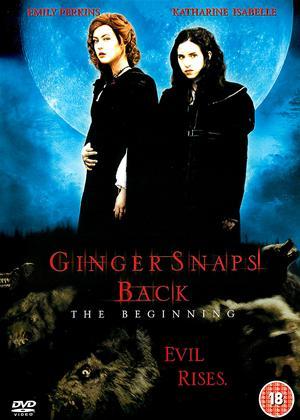 Rent Ginger Snaps Back Online DVD Rental