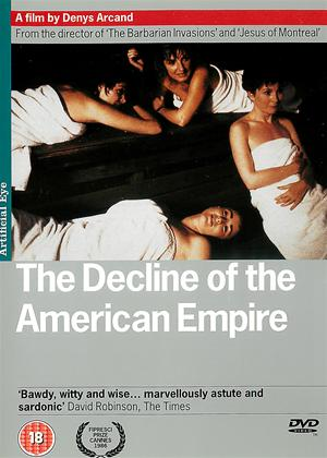 Rent The Decline of the American Empire (aka Le déclin de l'empire américain) Online DVD Rental