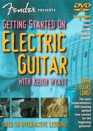 Rent Getting Started on Electric Guitar Online DVD Rental