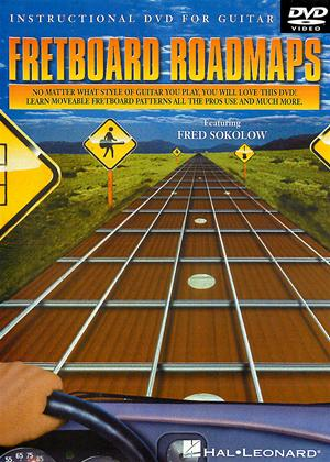 Rent Fretboard Roadmaps Guitar Online DVD Rental