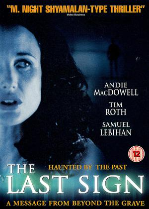 Rent The Last Sign Online DVD Rental