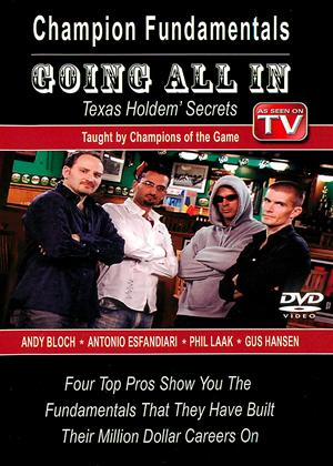 Rent Texas Hold Em Poker: Vol.1: Champion Fundamentals Online DVD Rental