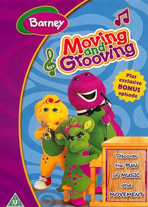 Rent Barney: Moving and Grooving Online DVD Rental