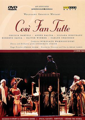 Rent Cosi Fan Tutte: Zurich Opera House (Harnoncourt) Online DVD Rental