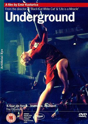 Rent Underground (aka Bila jednom jedna zemlja) Online DVD & Blu-ray Rental