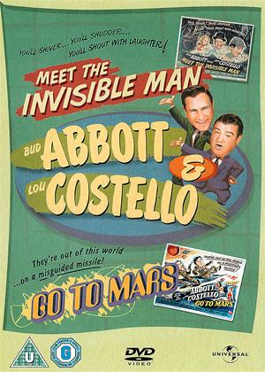 Rent Bud Abbott and Lou Costello: Meet the Invisible Man / Go to Mars Online DVD & Blu-ray Rental