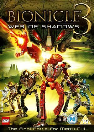 Bionicle 3: Web of Shadows Online DVD Rental