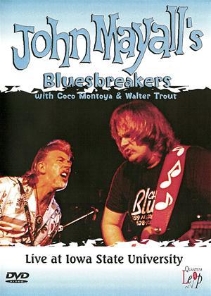 Rent John Mayall's Bluesbreakers: Live at Iowa State University Online DVD Rental