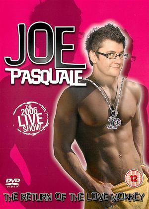 Joe Pasquale: The Return of The Love Monkey Online DVD Rental