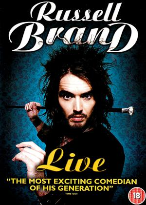 Russell Brand Live Online DVD Rental